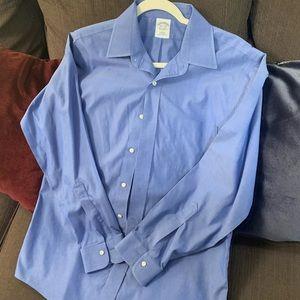 Brooks Bros 15.5 Slim Non Iron Dress Shirt